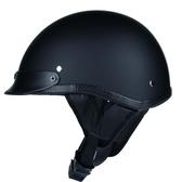 哈雷頭盔夏盔男機車半盔踏板摩托車個性復古太子頭盔街頭時尚大碼☌zakka
