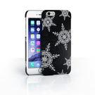 iPhone 6/6s Plus 手機殼 5.5吋【X'mas 冬戀樂章 - 霧黑雪花】- WaKase