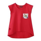『小鱷魚童裝』貼口袋T恤(02號~08號)533184