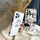 側邊圖案 搞笑頭像 適用 iPhone12Pro 11 Max Mini Xr X Xs 7 8 plus 蘋果手機殼