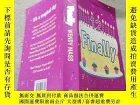 二手書博民逛書店罕見finally最後Y200392