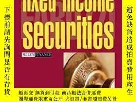 二手書博民逛書店Fixed罕見Income Securities-固定收益證券Y436638 Frank J. Fabozzi