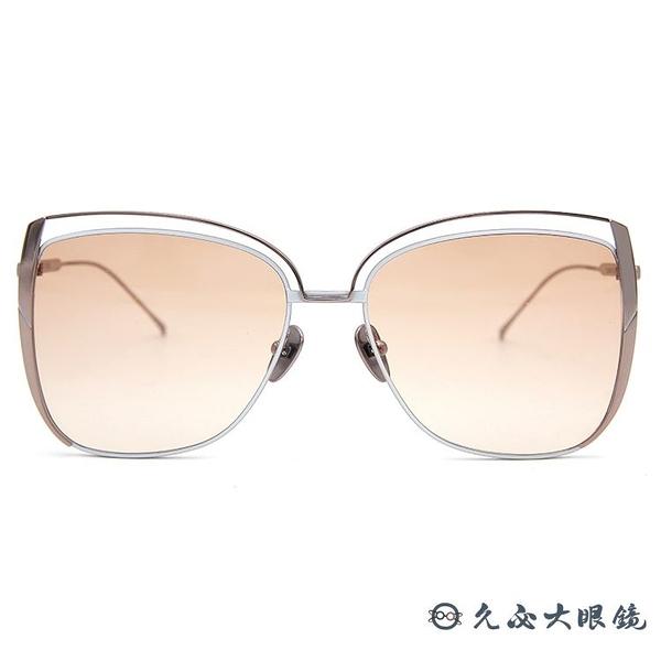 SUNDAY SOMEWHERE 太陽眼鏡 Poppy (玫瑰金) 蝶形 大框 墨鏡 久必大眼鏡