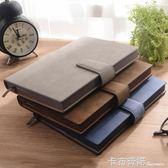 羊巴皮商務加厚筆記本子文具送禮禮盒套裝辦公A5工作記錄記事本 卡布奇諾