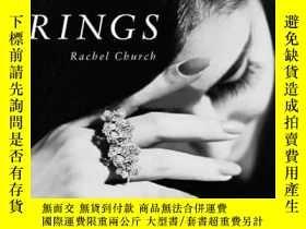 二手書博民逛書店Rings罕見戒指 戒指珠寶首飾設計書籍Y238343