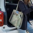 天透明包包2020新款潮網紅時尚果凍單肩腋下包大容量女包托特包 【端午節特惠】