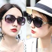 太陽鏡女潮明星款顯瘦大圓臉網紅同款狐貍頭新款墨鏡個性眼鏡『潮流世家』