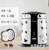 電飯煲1-2人迷你學生宿舍家用插電小電飯煮鍋 DJ3828【宅男時代城】