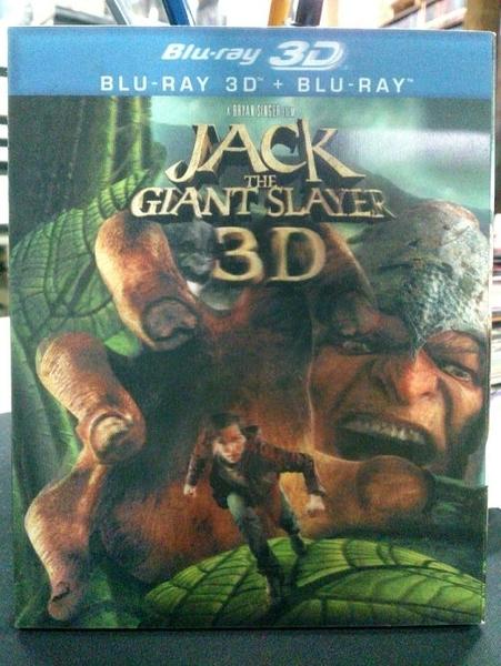 挖寶二手片-Q02-051-正版BD【傑克:巨人戰記 3D+2D雙碟 有外紙盒】-藍光電影(直購價)