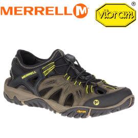 【MERRELL 美國 男款 ALL OUT BLAZE SIEVE 專業水陸兩棲鞋《深橄欖綠》】ML37691/拖鞋/水陸鞋★滿額送