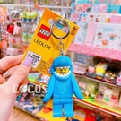 LEGO 樂高鑰匙圈 樂高鯊魚人 LED 人偶造型鑰匙圈燈 吊飾 鑰匙圈 手電筒 COCOS LG320