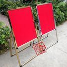 不銹鋼廣告牌立式展示架L腳水牌指示牌酒店...