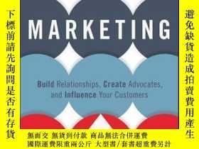 二手書博民逛書店Customer-Centric罕見Marketing: Build Relationships, Create