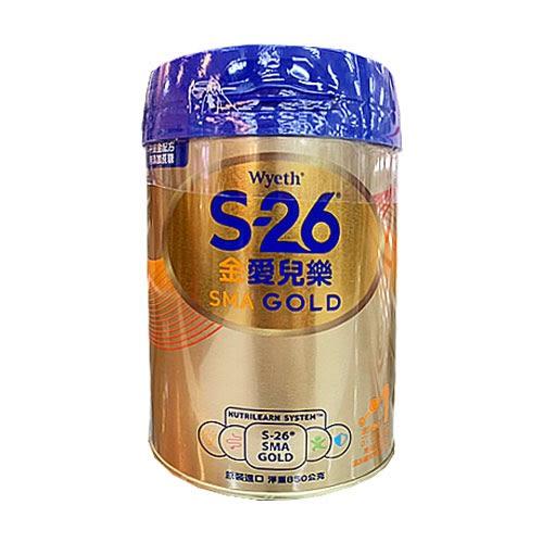 S-26金愛兒樂配方奶粉-金配方850g【愛買】