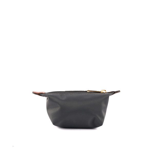 【LONGCHAMP】小零錢包(槍銅色)3693089300