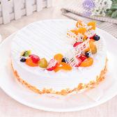 【樂活e棧】母親節造型蛋糕-典藏白之翼蛋糕(8吋/顆,共1顆)