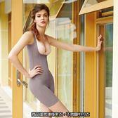 【曼黛瑪璉】2014AW重機能連身長管束衣(深芋紫)(未滿2件恕不出貨,退貨需整筆退)