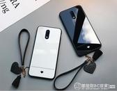 oppor17 手機殼女款oppor15 鋼化玻璃殼oppor11s 掛繩oppor17pro 簡約愛心《圓拉斯3C 》