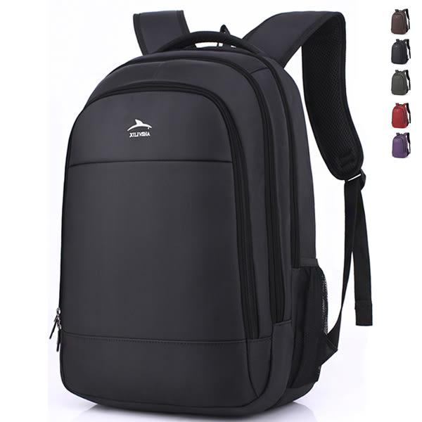 韓版大容量後背包 男雙肩書包 可放15吋筆電【非凡上品】x882