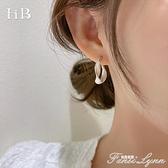 法式小眾高級感耳環韓國氣質網紅2021年新款潮女夏輕奢精致耳釘 范思蓮恩