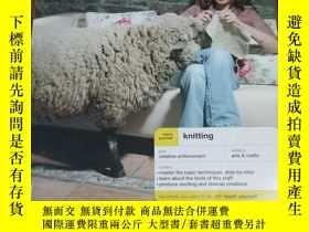 二手書博民逛書店Teach罕見Yourself Knitting (Teach