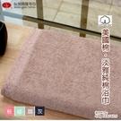 美國棉*淡雅素色純棉浴巾(單條) 多色選擇 【台灣興隆毛巾製】