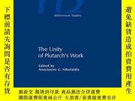 二手書博民逛書店The罕見Unity Of Plutarch s WorkY25
