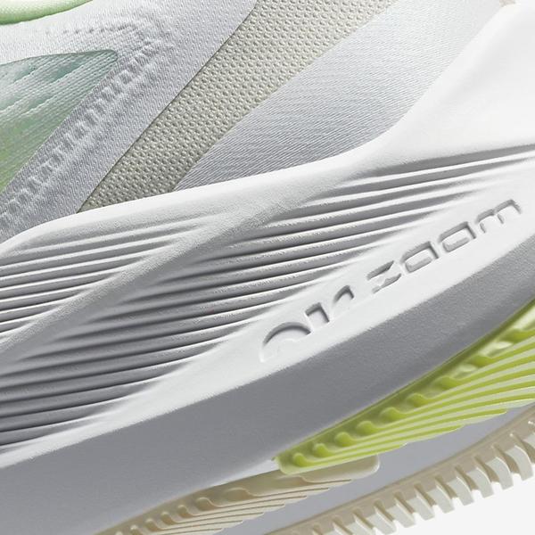 NIKE Air Zoom Winflo 7 女鞋 慢跑 緩震 氣墊 訓練 透氣 輕量 漸層綠【運動世界】CJ0302-100