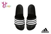 Adidas Adilette CF 拖鞋 成人男款 三線氣墊運動拖鞋 P9372#黑白◆OSOME奧森鞋業
