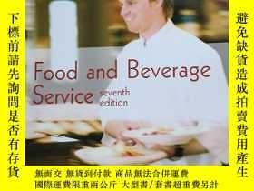 二手書博民逛書店food罕見and beverage serviceY10980 Dennis Lillicrap John