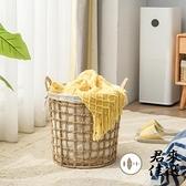 特大號髒衣籃家用草編洗衣籃玩具筐收納筐浴室收納籃【君來佳選】