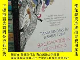 二手書博民逛書店Backwards罕見in High Heels(英文原版)Y1