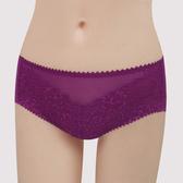 【曼黛瑪璉】包覆提托Hibra大波 低腰寬邊三角萊克內褲(莓紫)(未滿3件無法出貨,退貨需整筆退)