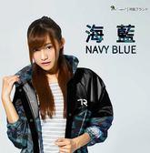 [中壢安信] 雙龍牌 迷彩偽裝前開雨衣 海藍 連身式 雨衣 EK4289