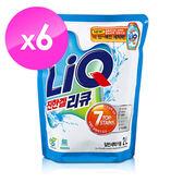 【韓國AK】LiQ強效去污環保洗衣精(2LX6入)
