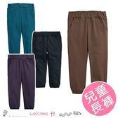 KZ8451兒童秋季薄款內磨毛束口長褲
