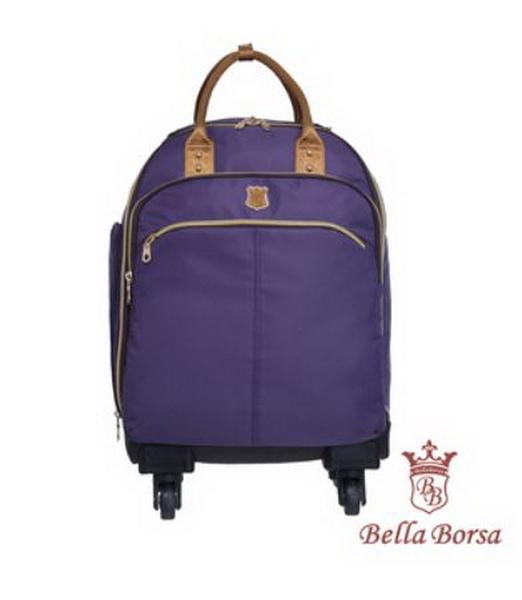 日本 Bella Borsa - BB16A013系列 行李袋/拉桿袋-紫