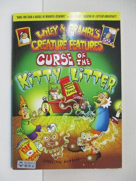 【書寶二手書T3/少年童書_AMS】Curse of the Kitty Litter_Scroggs, Kirk