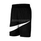 Nike 短褲 Dri-FIT Basketball Shorts 黑 白 男款 膝上 籃球 訓練 運動 【ACS】 BV9386-011