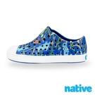 native 小童鞋 JEFFERSON 小奶油頭鞋-恐龍世界 x 藍