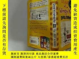 二手書博民逛書店Diary罕見of a Wimpy Kid :Dog Days 弱小的日記:三伏天.Y200392