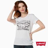 T恤 女裝 / 短袖純棉TEE / 經典雙馬Logo - Levis