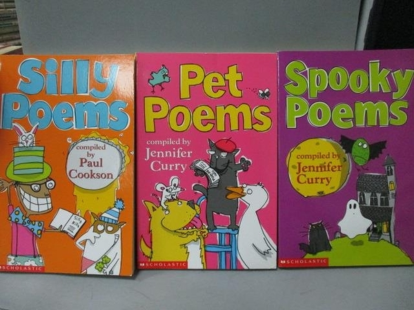【書寶二手書T4/語言學習_MPW】Silly Poems_Pet Poems等_共3本合售