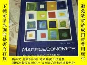 二手書博民逛書店Macroeconomics(外文原版罕見精裝16開)Y185017 Mankiw Worth 出版2007