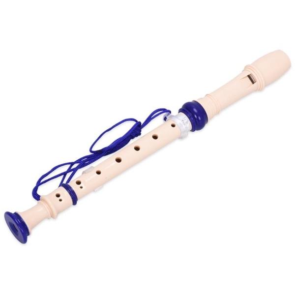 奇美學生兒童德式高音豎笛6孔8孔初學者入門課堂樂器豎笛直笛WY