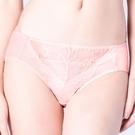 思薇爾-輕戀香系列M-XXL蕾絲中腰三角內褲(荷花膚)