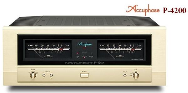 《名展影音》頂級器材+穩定大功率輸出 日本金嗓子 Accuphase P-4200後級擴大機  公司貨