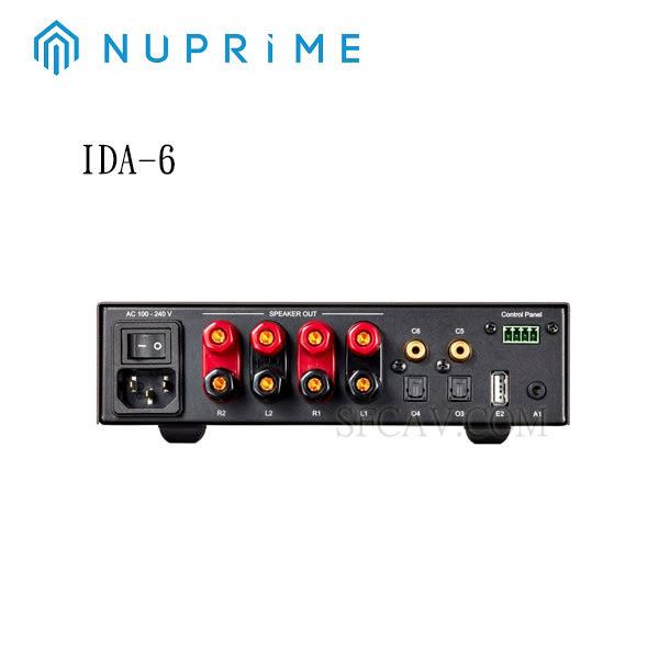 【新竹音響勝豐群】NUPRIME IDA-6  綜合擴大機+DAC