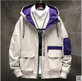防風外套工裝外套男士秋冬季加絨加厚保暖防風上衣機能風潮流夾克 夏季新品