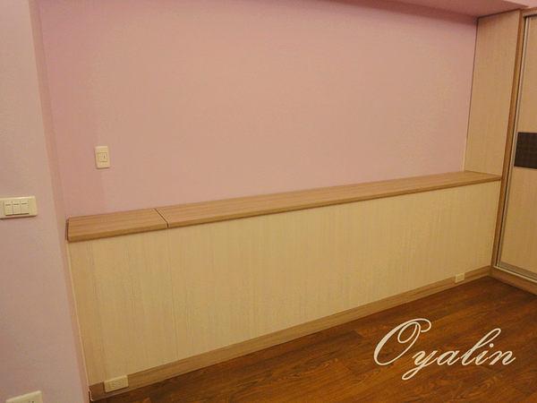 【系統家具】上掀式收納床頭櫃&拉門式系統衣櫃 系統櫃 德國E1-V313防潮塑合板